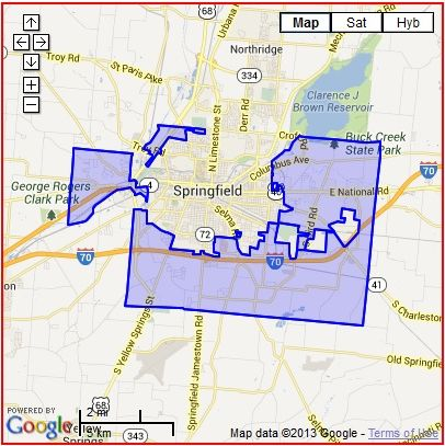 Springfield Township Ohio Map.Elected Officials Township History Trustee Meeting Minutes